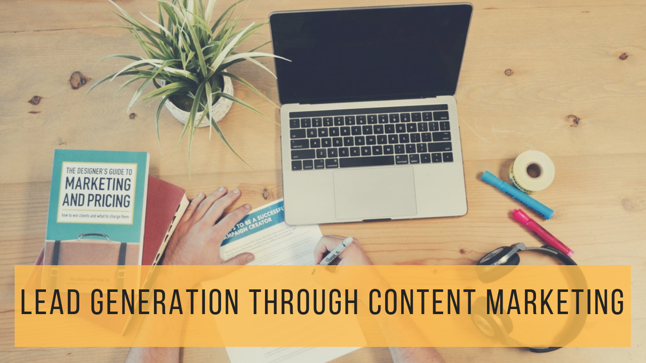 Qualified Lead Generation Through Content Marketing​​​​​​​ | HandmadeSEO