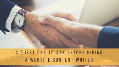 Website Content Writer Required: 4 Questions to Ask Before Hiring